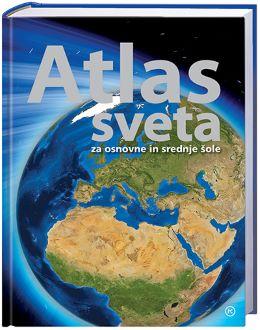 SVET KNJIGE | ATLAS SVETA ZA OSNOVNE IN SREDNJE ŠOLE