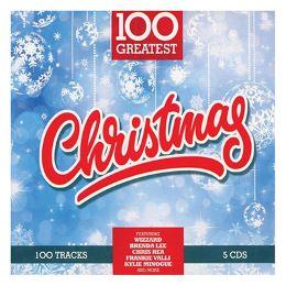CD 100 CHRISTMAS GREATEST SONGS 5CD