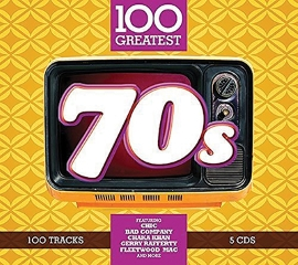 CD 100 GREATEST 70S 5CD