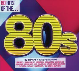 CD 80 HITS OF 80S 4CD