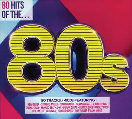 CD 80 HITS OF 80S 4CD