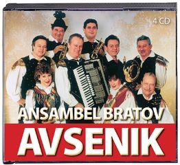 CD ANSAMBEL BRATOV AVSENIK 4CD