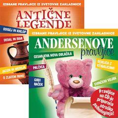 CD ANTIČNE LEGENDE+ANDERSENOVE PRAVLJICE