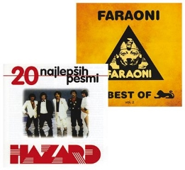 CD BEST OF FARAONI+20 NAJLEPŠIH PESMI HAZARD 2 CD