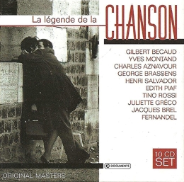 CD LA LEGENDE DE LA CHANCON-10CD