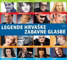 CD LEGENDE HRVAŠKE ZAB.GLAS.4CD