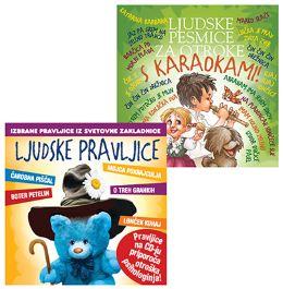 CD LJUDSKE PESMICE ZA OTROKE S KARAOKAMI+LJUDSKE PRAVLJICE