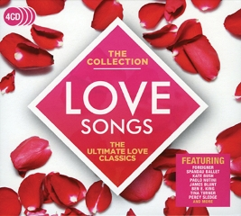 CD LOVE SONGS-THE COLLECTION 4CD