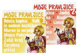 CD MOJE PRAVLJICE 1+MOJE PRAVLJICE 2