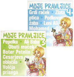 CD MOJE PRAVLJICE 3 + MOJE PRAVLJICE 4