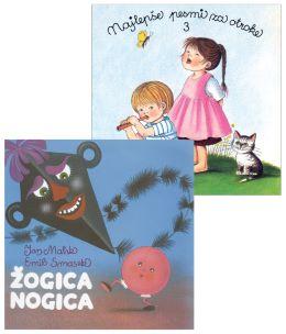 CD NAJ. PESMI ZA OTROKE 3. + ŽOGICA NOGICA