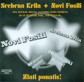 CD NOVI FOSILI IN SREBRNA KRILA ZLATI PONATIS