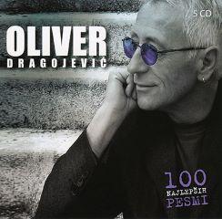 CD OLIVER DRAGOJEVIČ-100 NAJ.PESMI 5CD-RD