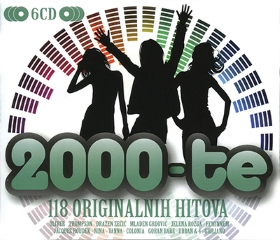 CD ORIGINALNI HITI 2000 6CD