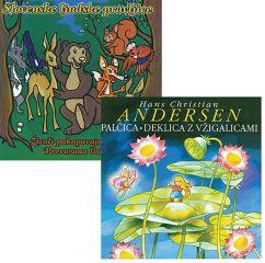 CD SLOV. LJUDSKE PRAVLJICE IN PALČICA IN DEKLICA Z VŽIGALICAMI