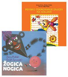 CD ŽOGICA NOGICA + PEVSKO TEKMOVANJE ZAJCEV N