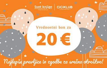 DARILNI BON ZA 20 EUR - NAJELPŠE PRAVLJICE