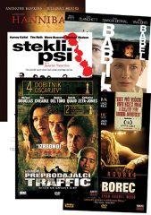 DVD HANNIBAL+BABILON+STEKLI PSI+ROKOBOREC+PREPRODAJALCI