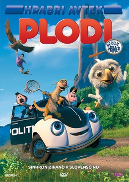 DVD HRABRI AVTEK POLDI