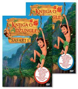 DVD KNJIGA O DŽUNGLI SAFARI 1 + SAFARI 2