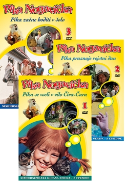 DVD PIKAA NOGAVIČKA 3 DVD