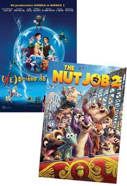 DVD TRD OREH 2 IN (NE)SREČNO DO KONCA DNI