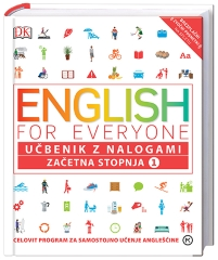 ENGLISH FOR EVERYONE, ZAČETNA STOPNJA 1, UČBENIK Z NALOGAMI