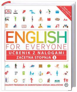 ENGLISH FOR EVERYONE, ZAČETNA STOPNJA 1, UČBENIK Z NALOGAMI