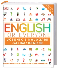 ENGLISH FOR EVERYONE,ZAČETNA STOPNJA 2,UČBENIK Z NALOGAMI