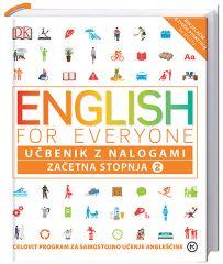 ENGLISH FOR EVERYONE,ZAČETNA STOPNJA 2,UČBENIK Z NALOGAMI