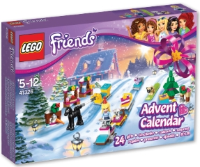 LEGO FRIENDS ADVENTNI KOLEDAR - NOVO
