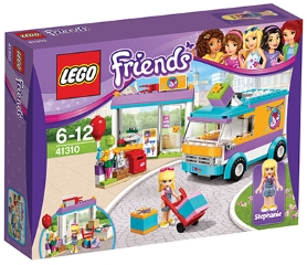 LEGO FRIENDS DOSTAVA DARIL V HEARTLAKU