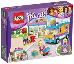LEGO FRIENDS DOSTAVA DARIL V HEARTLAKU