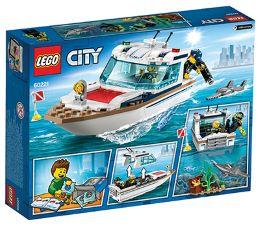 LEGO CITY POTAPLJAŠKA JAHTA